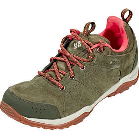 Columbia Fire Venture Low Waterproof Shoes Women Nori/Corange